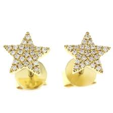 diamond earrings online buy the yellow gold stud diamond earrings online antwerp or