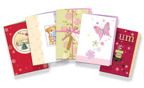 cheap printing customized handmade new year greeting cards