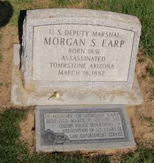 grave tombstone earp 1851 1882 find a grave memorial