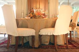 Diy Dining Chair Slipcovers Dining Chair Slipcovers Room Seat Only Diy Pier One