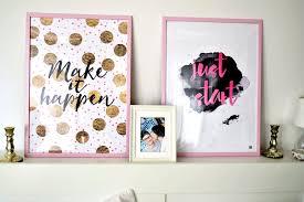 Schlafzimmer Deko Pink Homestory Wohn U0026 Schlafzimmer Dekoration Wandbilder