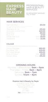 regis hair salon cut and color prices regis hair salon hairdressers birmingham road dudley west