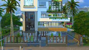 the sims 4 family residence ultra modern home homeless sims