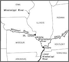 Cairo Illinois Map by Analysis Of The Impacts Of Dikes On Flood Stages In The Middle