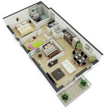 floor plan for small house awesome 3d floor plans for small or medium house plan loversiq