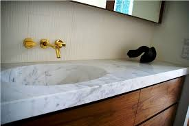 Exotic Carrara Marble Bathroom Inspiration Home Designs Carrara Marble Bathroom Designs