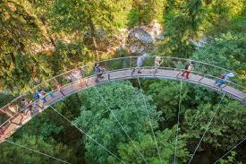 Treetop Canopy Tours by Capilano Suspension Bridge Landsea Tours U0026 Adventures Landsea