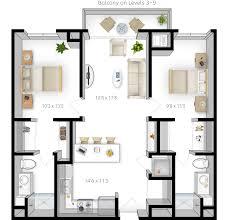 5 room floor plan floor plans