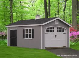 12 Car Garage by 1 Car Garage Homestead Structures