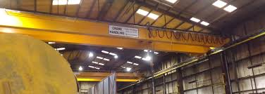 cranes uk supply 20 tonne double girder overhead cranes used