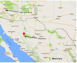 Chihuahua Mexico Map The Gila River People Victims Of Modernity Common Science Space