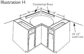 How To Install Base Corner Kitchen Cabinets Bar Cabinet - Corner kitchen base cabinet
