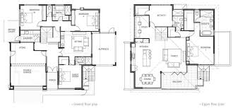 two story home floor plans floor plan friday 2 story home with a view