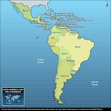 Map Of Latin America And The Caribbean by Unicef Humanitarian Action For Children 2011 The Americas And