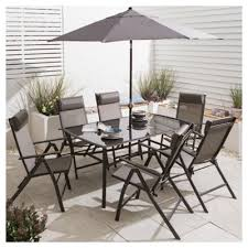 Metal Garden Chairs And Table Buy Roma Metal Garden Furniture Set 8 Piece From Our Metal Garden
