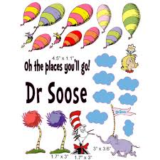 dr seuss balloons dr suess balloons cranial band decoration from high quality vinyl