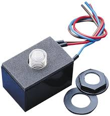 Photocell For Outdoor Lights Miniature Photocell Dusk To Sensor Outdoor Lighting