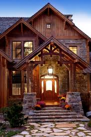 Log Cabin Luxury Homes The Rustic Luxury Houses Are Stone And Wood Perfection 30 Photos