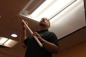 fluorescent lighting fluorescent light replacement diffuser led
