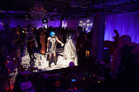 Halloween Party Lighting by Corporate Halloween Party By Merryl Brown Events