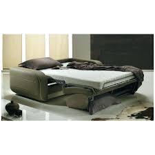monsieur meuble canape canape lit rapido convertible canapac en cuir beige pas cher