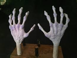 Halloween Monster Hands Making Hands Youtube