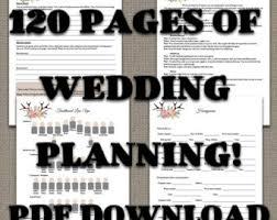 Ultimate Wedding Planner Ultimate Wedding Planner Over 75 Organizational Printables