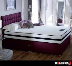 Divan Bed Set 1000 Pocket Sprung Divan Bed Set Tj Warehouse Direct Ni