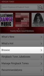 ringback tones for android purchase ringtones or ringback tones verizon tones android