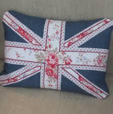 Blue Union Jack Cushion Pretty Goods March 2011