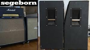 slant vs straight 4x12 marshall 1960a vs 1960b youtube