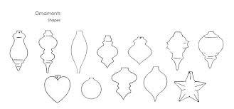 ornament shapes