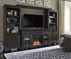 townser media entertainment center w fireplace option u2013 central