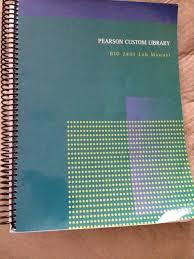pearson custom library bio 2401 lab manual pearson learning
