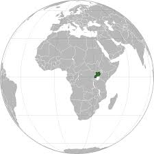 Map Of Uganda Africa by Location Of The Uganda In The World Map