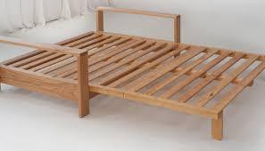 futon homemade beds how to make a fold out sofafutonbed frame