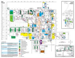 San Diego State University Campus Map by Csu Campus Map My Blog