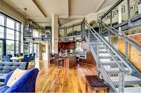 Industrial Loft Floor Plans Industrial Madison Park Loft For Sale Urbnlivn
