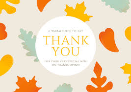online thank you cards free thank you card maker canva