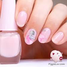 piggieluv color changing modern dancer nail art
