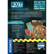 amazon com thames u0026 kosmos exit the abandoned cabin game toys