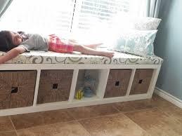 Cushioned Storage Bench How To Make A Window Bench Seat Cushion U2013 Pollera Org
