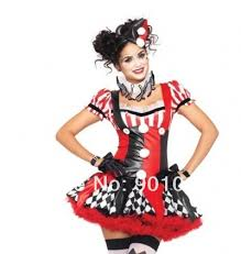 Psycho Halloween Costume Free Shipping Psycho Clow Costume Horror Halloween Party