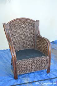 Wicker Chair How To Paint Wicker Furniture Quickly And Easily H20bungalow
