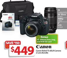 best camera deals for black friday canon rebel t5 bundle meijer digital slr camera black friday