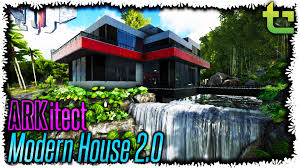 ark se arkitect 06 modern house 2 0 timmycarbine youtube