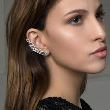 cuff earrings glam rock ear cuff earrings aristocrat