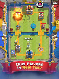 about the game clash royale