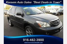 lexus rx hybrid used used 2007 lexus rx 400h for sale pricing features edmunds