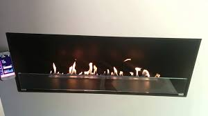 decoflame montreal e ribbon automatic fireplace flame level 1 to